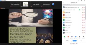 RESUMEN:WEBINAR MEDIDAS PARA FORTALECER NUESTRA DEBIDA DILIGENCIA EN LA ACTUALIDAD (POST COVID-19)