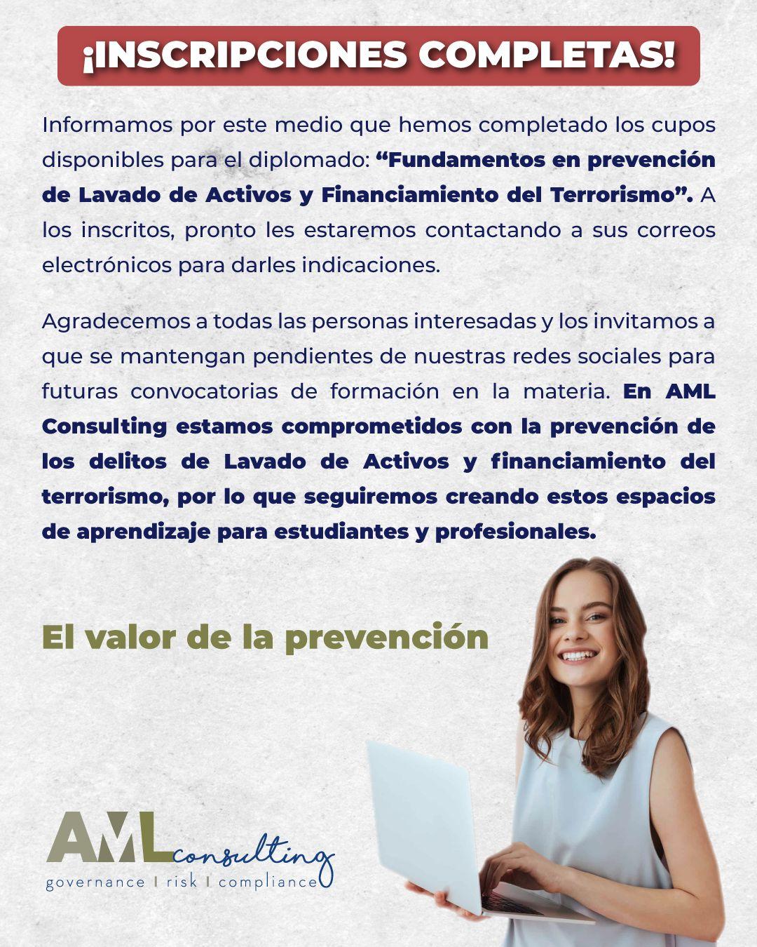 Fin 1 - Diplomado prevención del LA y FT