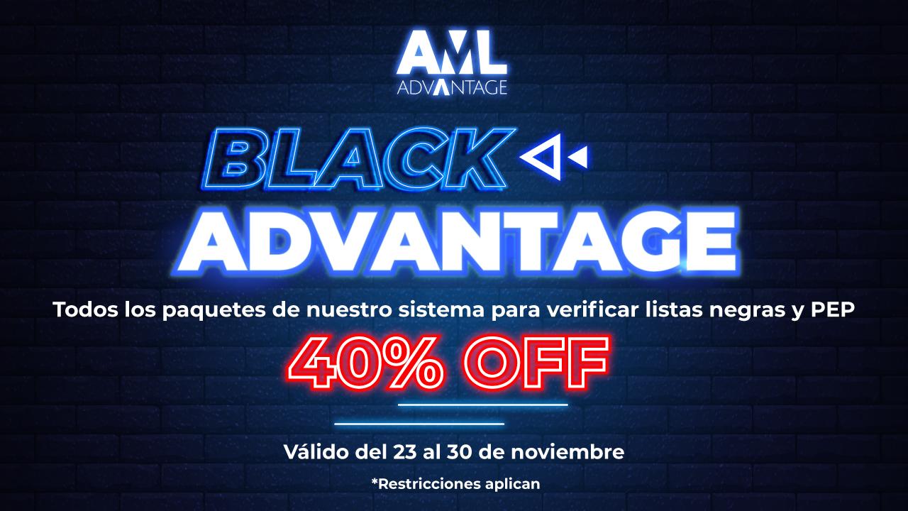 BLACK ADVANTAGE banner 1280x720 px - AML Consulting